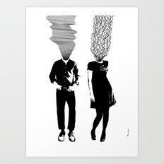 Neuro V3V4 Art Print