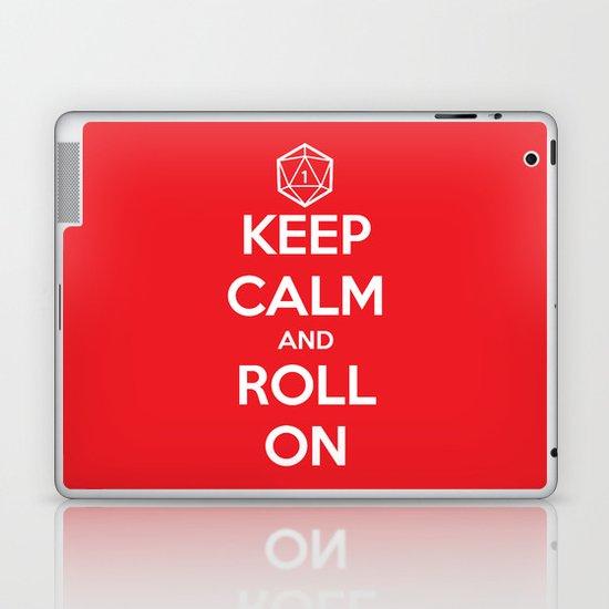 Keep Calm and Roll On Laptop & iPad Skin