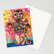 The Devil Caught With His Cake Stationery Cards
