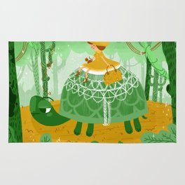 By Way of Turtle Rug