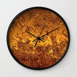 Matchstick World Wall Clock