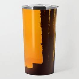 Sunset surf Travel Mug