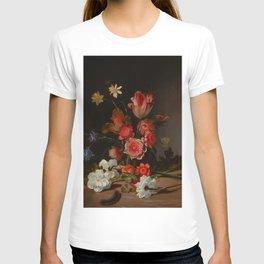 "Dirck de Bray ""Still Life with a Bouquet in the Making"" T-shirt"