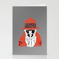rorschach Stationery Cards featuring Rorschach by Rebecca McGoran