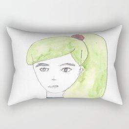 170404 Random 3  Modern Watercolor Art Rectangular Pillow