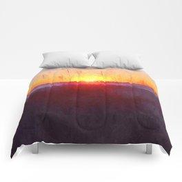 Florida Beach Scene #1 Comforters