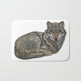 Norse Wolf Bath Mat