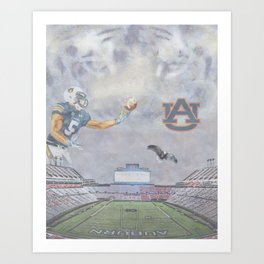 Auburn Tigers University War Eagle Kunstdrucke