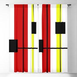 Geometrical design Blackout Curtain