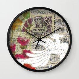 Newfoundland Stamp Wall Clock