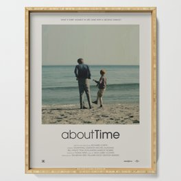 About Time (2013) Minimalist Poster Serving Tray