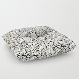 Parchment Secret Floor Pillow