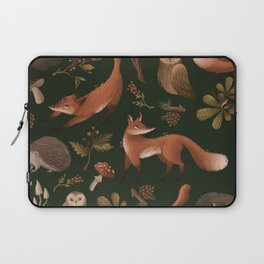 Woodland animals Laptop Sleeve