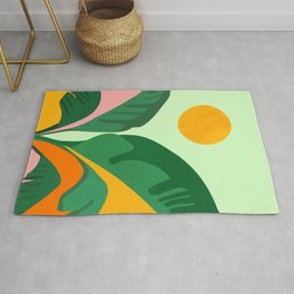 Things Are Looking Up / Tropical Greenery Rug