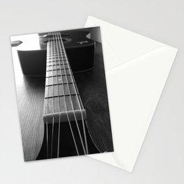 Guritar neck Stationery Cards