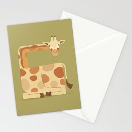 Giraffe, African Wildlife Stationery Cards