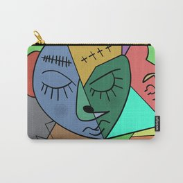 Sleepy Face Carry-All Pouch