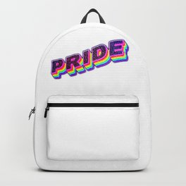 Be proud of you,  Lgbt lovely clothing | Love is love Backpack