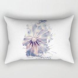 Dandelion Blue Graphic - Vertical Rectangular Pillow