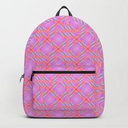 Pastel Broken Diamond Swirl Pattern Backpack