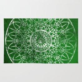 Fire Blossom - Emerald Rug