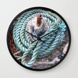 Mooring rope Wall Clock