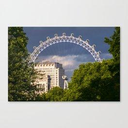 London Eye Looming Canvas Print