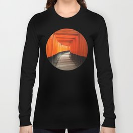 Fushimi Inari Shrine Long Sleeve T-shirt
