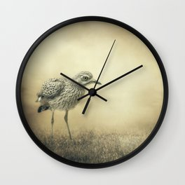 Passing On Through Wall Clock