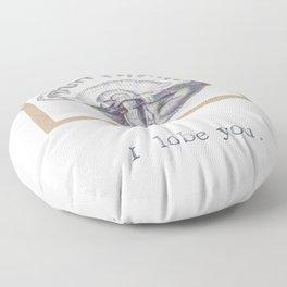 I Lobe You Floor Pillow