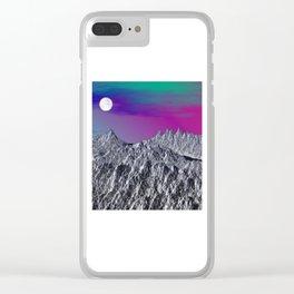 Winter Dream 02 Clear iPhone Case