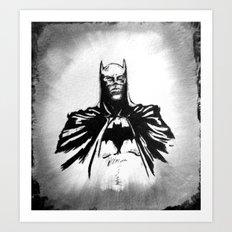 The Dark Bruce Art Print