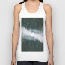 Forest Reflections IV Unisex Tank Top