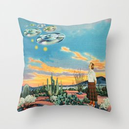 They were here before us Throw Pillow