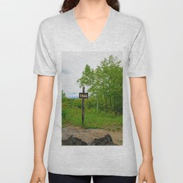 Looking For A Trail Unisex V-Neck