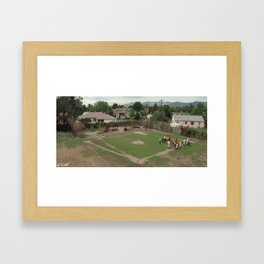 The Sandlot Framed Art Print