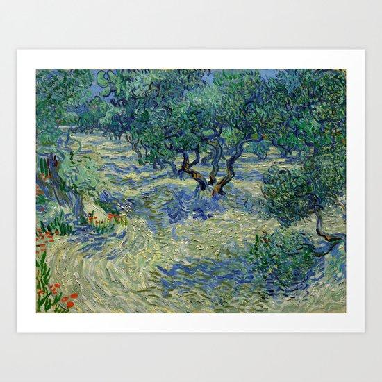 "Vincent Van Gogh ""Olive Orchard"" by alexandra_arts"