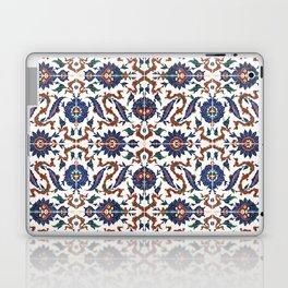 Iznik Pattern Red Blue White Laptop & iPad Skin