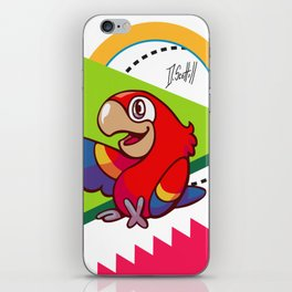 Parrot Pal iPhone Skin