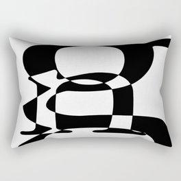 Love of Type Rectangular Pillow