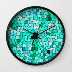 HARMONY IN TURQUOISE Wall Clock