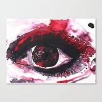 chaos Canvas Prints featuring chaos by echoes