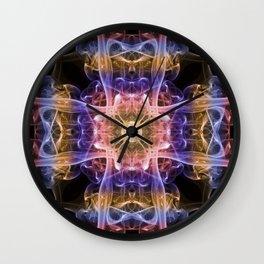Smoke Art 38 Wall Clock
