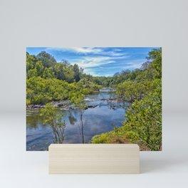 Idyllic River View Mini Art Print