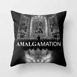 Amalgamation #4 Throw Pillow
