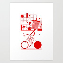 Bicycle I. Art Print