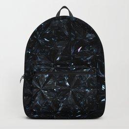 Black Diamond Abstract Art Pattern 01 Backpack