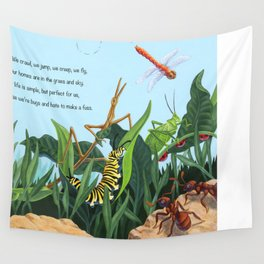Bugs Wall Tapestry