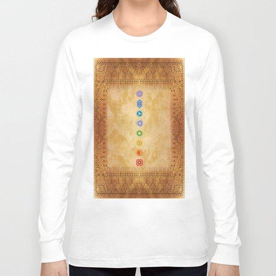 Chakras Kali | Beyond the time  Long Sleeve T-shirt