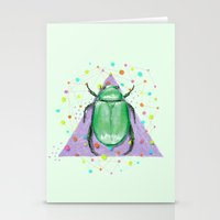 insect Stationery Cards featuring INSECT III by dogooder